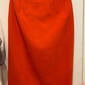 Escada pencil skirt: worn 2x
